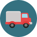 vehicle, Bus, Automobile, Public transport, Shipping And Delivery, transportation, truck, transport SeaGreen icon