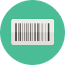 Price, Barcode, Products, Commerce And Shopping, horizontal CadetBlue icon