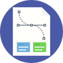 document, File, Page, Business, Stats, Analytics, statistics, Business And Finance DarkSlateBlue icon
