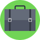 Business And Finance, Business, Briefcase, Bag, suitcase, portfolio DimGray icon