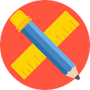 School Material, Seo And Web, Pen, ruler, Tools And Utensils, Writing Tool, pencil Tomato icon
