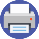 paper, Print, printer, Ink, technology, printing, Tools And Utensils DarkSlateBlue icon