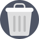 Trash, recycle, Garbage, Can, ui, tin, Tools And Utensils Icon