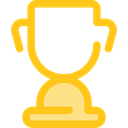 cup, award, Sports And Competition, trophy, winner, Champion Gold icon