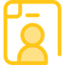 candidate, Seo And Web, search, work, Curriculum Gold icon
