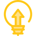 Light bulb, Idea, electricity, illumination, technology, electronics, invention, Seo And Web Gold icon