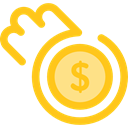 Business, Money, coin, Coins, Cash, stack, Currency, Business And Finance Gold icon