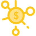 Business, Money, Coins, Cash, stack, Currency, Seo And Web Gold icon