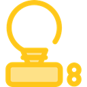 Light bulb, Idea, Business, Money, Bussiness, startup, Seo And Web Gold icon