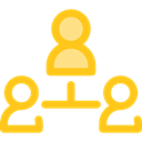 Users, group, people, user, team, men, Seo And Web Gold icon