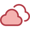 Cloud, weather, Clouds, Cloudy, sky, meteorology Black icon