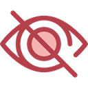 Eye, optical, ui, Blind, Multimedia Option, Body Part, Ophthalmology, Multimedia, Hide, interface Sienna icon