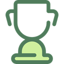 cup, award, trophy, winner, Champion, Sports And Competition DimGray icon