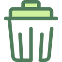 Bin, Garbage, Can, Tools And Utensils, Trash, interface, Basket, miscellaneous DimGray icon