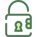 security, padlock, Tools And Utensils, locked, Lock, secure DimGray icon