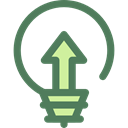 Light bulb, Idea, electricity, illumination, technology, electronics, invention, Seo And Web Black icon