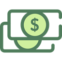 Currency, Business And Finance, Notes, Business, Money, Cash DimGray icon