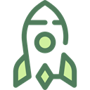 Space Ship, Rocket Ship, Space Ship Launch, Rocket Launch, Rocket, transportation, transport DimGray icon