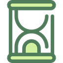 Clock, time, miscellaneous, Hourglass, waiting, Tools And Utensils, Time And Date DimGray icon