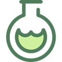 flask, chemical, Test Tube, Flasks, science, education, Chemistry DimGray icon