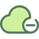 Multimedia, Data, interface, storage, ui, Cloud computing, Multimedia Option PaleGoldenrod icon