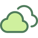 Clouds, Cloudy, sky, meteorology, Cloud, weather Icon