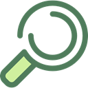 search, magnifying glass, zoom, detective, Loupe, Tools And Utensils, Seo And Web DimGray icon
