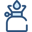 miscellaneous, fire, Gas, Flame, Cook, Camping, Cooking DarkSlateBlue icon