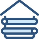Holidays, hut, outdoor, Planks, wooden, wood, storage, buildings, Architecture And City DarkSlateBlue icon