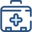 Health Care, Healthcare And Medical, doctor, medical, hospital, first aid kit DarkSlateBlue icon