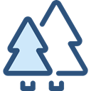 nature, landscape, Forest, woods, trees, pines Icon