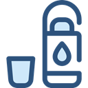 Healthy Food, Hydratation, Food And Restaurant, drink, food, water, Bottle DarkSlateBlue icon