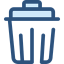 Bin, Garbage, Can, Tools And Utensils, Trash, interface, Basket, miscellaneous DarkSlateBlue icon