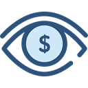 visible, Visibility, Seo And Web, medical, interface, Eye, view DarkSlateBlue icon