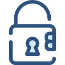 security, padlock, Tools And Utensils, locked, Lock, secure DarkSlateBlue icon