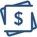 Business And Finance, Money, Cash, Currency, Notes, Business DarkSlateBlue icon