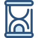 Clock, time, miscellaneous, Hourglass, waiting, Tools And Utensils, Time And Date DarkSlateBlue icon