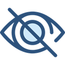 Multimedia, ui, Blind, Multimedia Option, Body Part, Hide, interface, Eye, optical, Ophthalmology DarkSlateBlue icon