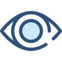 Multimedia Option, Body Part, Ophthalmology, show, Eye, optical, ui Black icon