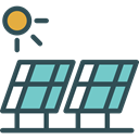 power, technology, Solar Energy, Ecology And Environment, Ecological, Renewable Energy, Solar Panels, Solar Panel Icon