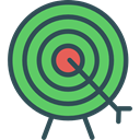 objective, Archery, weapons, archer, Arrows, Arrow, sport, Target, Sports And Competition Icon