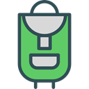 baggage, Bags, travel, Backpack, luggage MediumSeaGreen icon