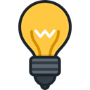 Light bulb, Idea, electricity, illumination, technology, invention, Business And Finance Black icon