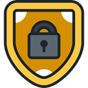 Antivirus, shield, ui, defense, secure, security DarkSlateGray icon