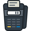 payment method, Point Of Service, Business And Finance, Business, commerce, pay, Credit card, Debit card DarkSlateGray icon