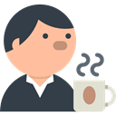 people, Business, job, Reunion, Boss, meeting, interview, Human resources, Business And Finance DarkSlateGray icon
