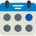 Administration, Organization, Calendars, Time And Date, Calendar, time, date, Schedule, interface Gainsboro icon
