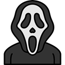 cinema, Avatar, spooky, scary, fear, halloween, scream, horror, Terror DarkSlateGray icon