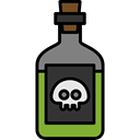 dangerous, spooky, scary, fear, halloween, horror, poison, Terror Black icon
