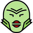 spooky, scary, fear, halloween, monster, horror, Terror, Avatar PaleGreen icon